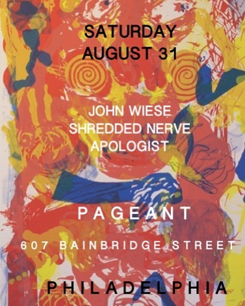 John Wiese / Shredded Nerve / Apologist